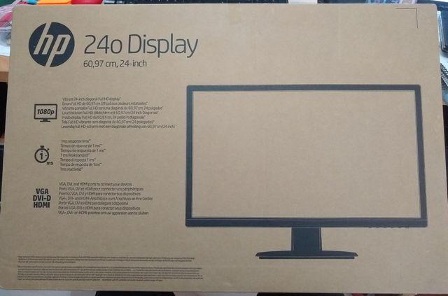 """Monitor HP LED 24"""""""
