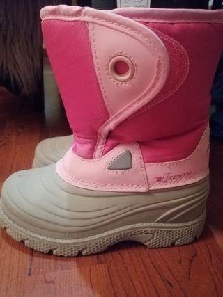 botas nieve número 30