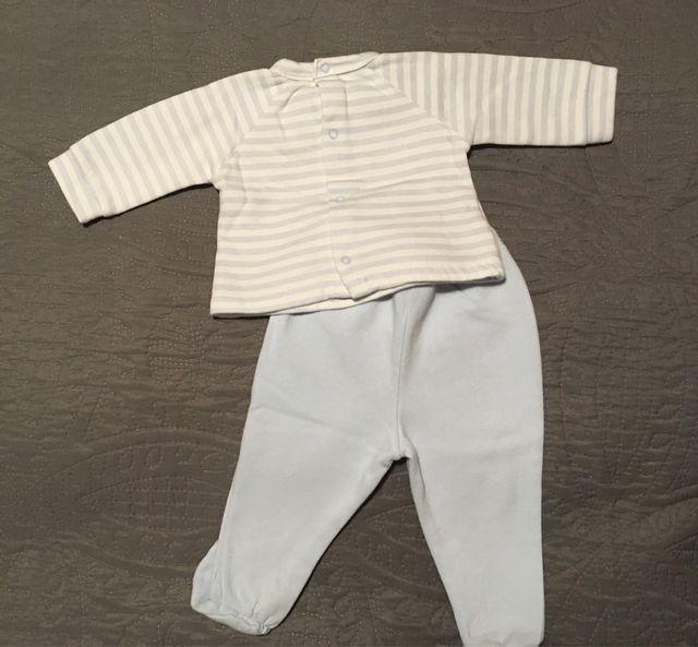 Conjunto sudadera y pantalones felpa