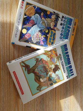 2 libros comics de dragon ball