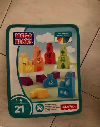 Mega Bloks Bloques aprende los colores.MattelDHX33