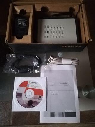 Router, moden nuevo marca thomson
