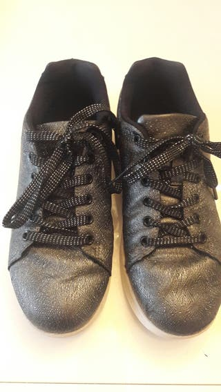 Zapatillas negras talla37