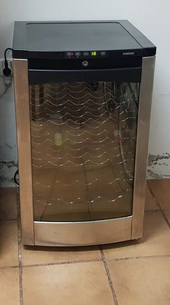 Nevera de vinos Samsung Model RW13EBSS
