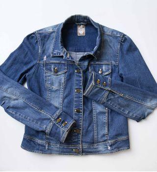 chaqueta tejana talla L