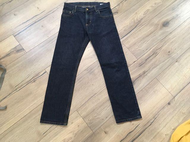 Pantalones tejanos carhartt 29x32 slim pant