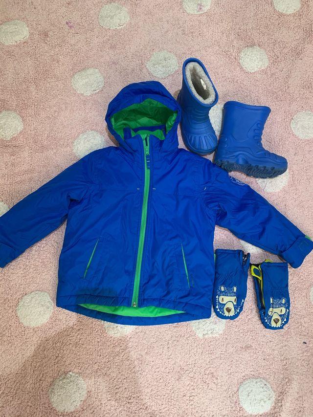 Conjunto ropa de nieve