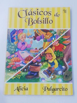 CLÁSICOS DE BOLSILLO - ALICIA / PULGARCITO