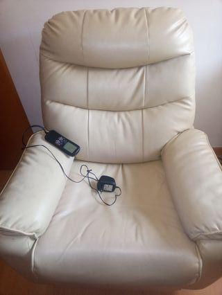 sillón masageador
