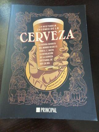 """Libro """"la historia en comic de la cerveza"""""""