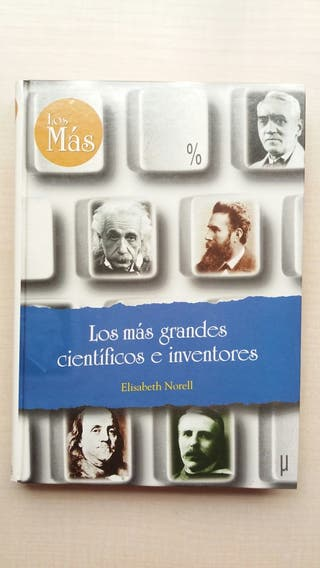 Libro Los más grandes científicos e inventores.