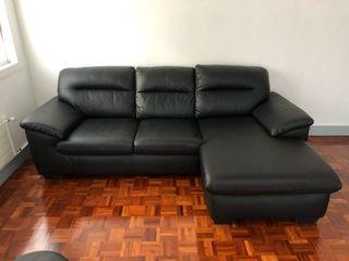 Sofá piel Ikea MALVIKEN