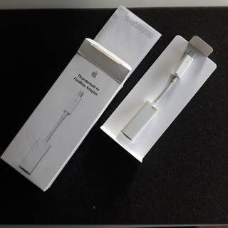 Apple adaptador thunderbolt firewire.