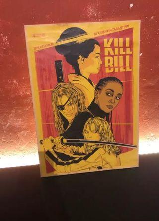 Poster retro película Kill Bill