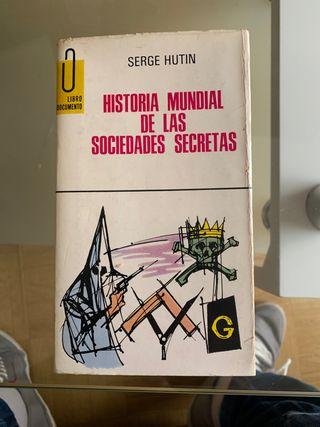 Historia mundial de las sociedades secretas