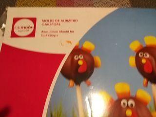 Molde lauminio Cakepops