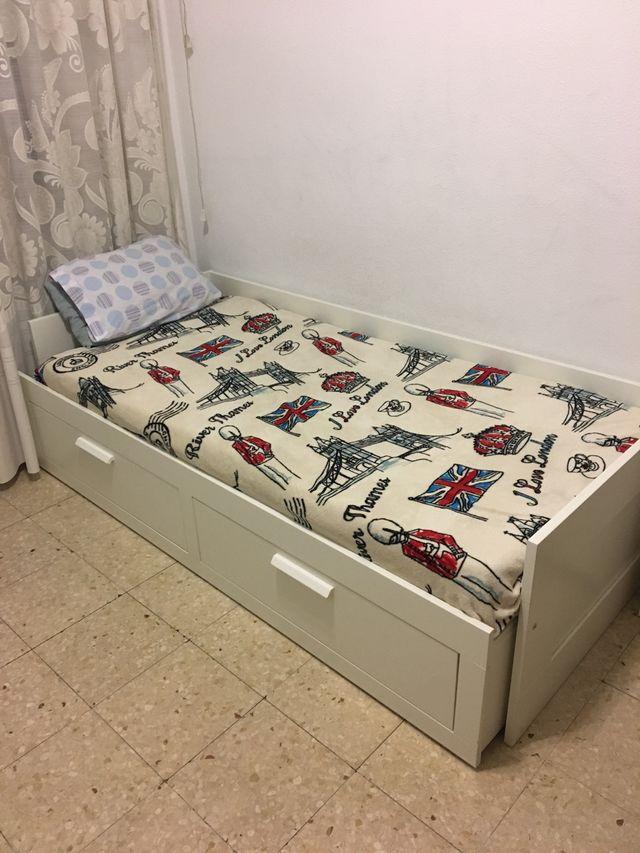 Sofá cama ikea de segunda mano por 120 € en Salamanca en ...
