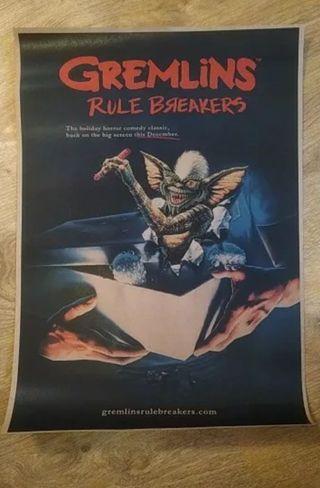 Poster película Los Gremlins