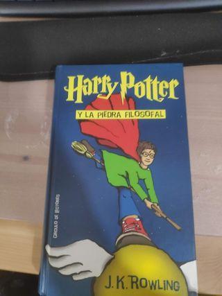 Primer libro de la saga Harry Potter