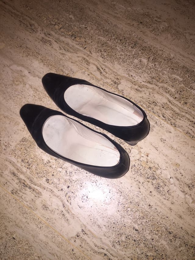 Zapato salón piel suela cuero número 37