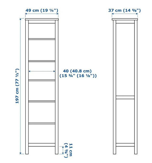 Librería HEMNES IKEA