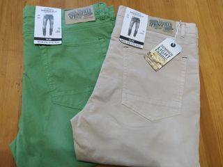 Lote 2 Pantalones Springfield