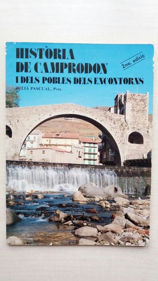 Libro Història de Camprodon i dels pobles del Enco