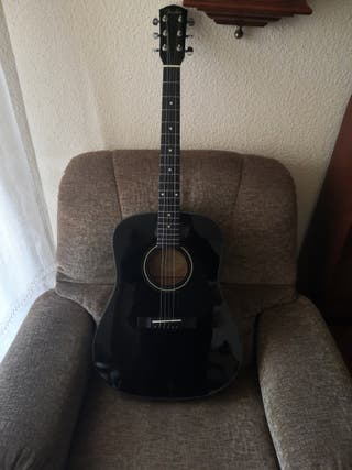 Guitarra acústica Fender DG-5 BLK negra