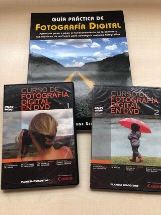 Libro y dvd curso de fotografía