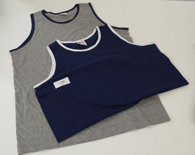 Camisetas básicas, tirantes, manga corta...