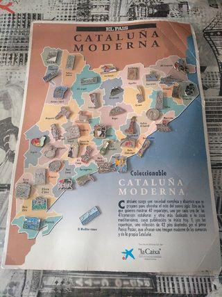 pins coleccion cataluña moderna, periódico el pais