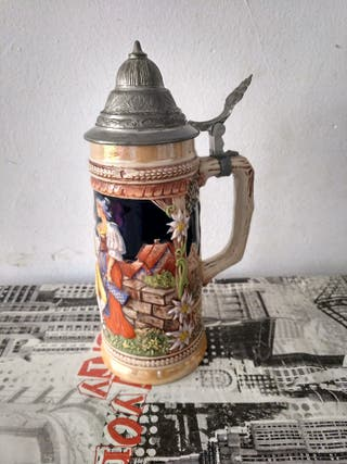jarra de cerveza alemana original gertzit gerz ger
