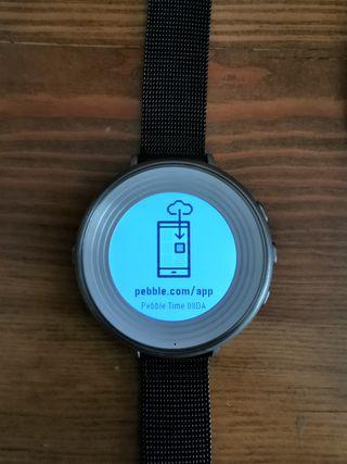 Pebble Time Round totalmente operativo