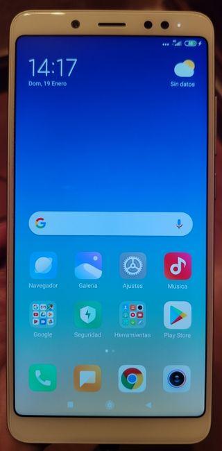 Xiaomi redmi note 5 como nuevo