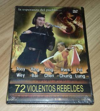 Película DVD- 72 Violentos Rebeldes
