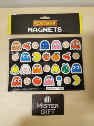 Set de imanes Pac-Man