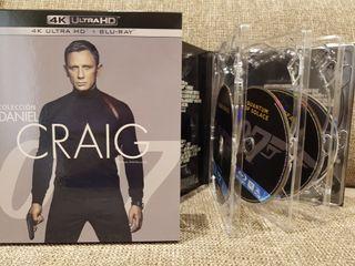 Colección James Bond bluray 4 películas