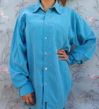 Vestido/blusa/ camisa cupro. Talla L/XL