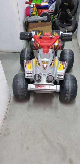 quads niño bateria