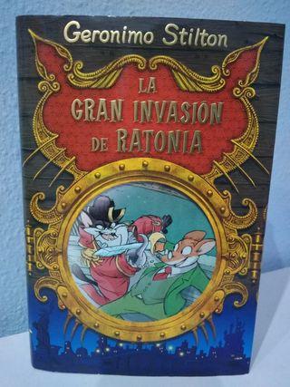 Libro: La gran invasión de Ratonia