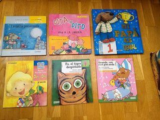 Lote libros infantiles mayúsculas
