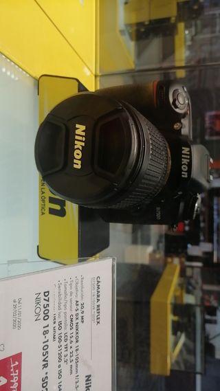 cámara NIKON 7500 - 18-105 VR
