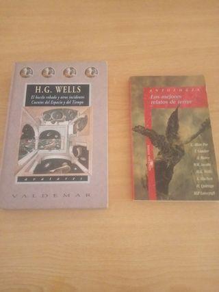libros temática ciencia ficción/terror