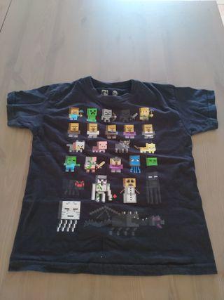 Ropa. Samarreta Minecraft