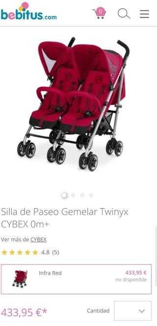 silla carrito gemelar CYBEX TWINYX