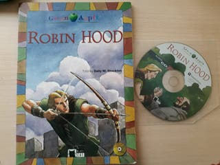 Libro Robin Hood inglés