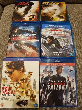 Colección Misión Imposible bluray 6 películas