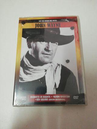 John Wayne 3 películas dvd Nuevo