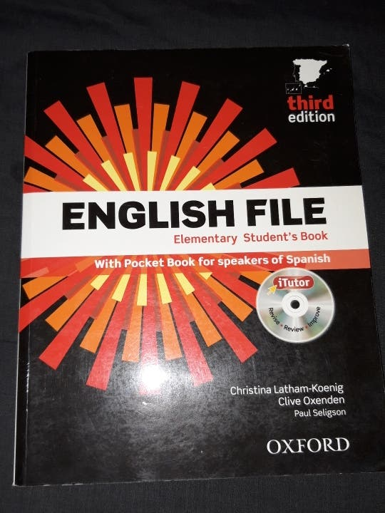libros de ingles: English file