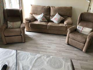 Sofá y sillones para salón